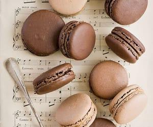 chocolate, food, and music image