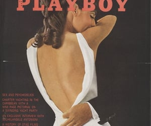 Playboy, white, and dress image