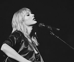 b&w, beauty, and singer image
