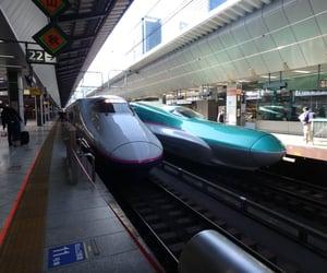 japan, 駅, and 新幹線 image
