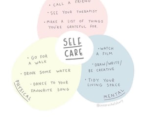 healing, positivity, and therapy image