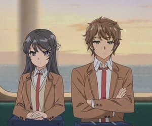 anime, bunny girl senpai, and mai sakurajima image