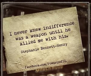 he, indifference, and killed image