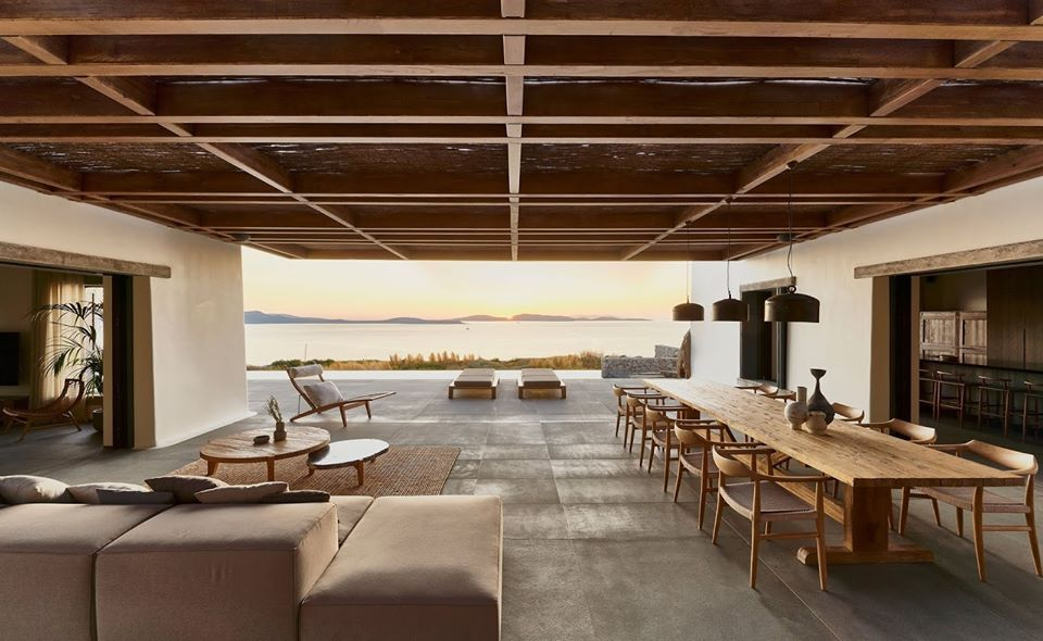 chilling, furniture, and patio image