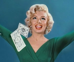 actress, blonde, and Marilyn Monroe image