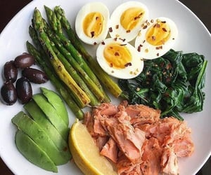 delicious, dinner, and eggs image