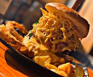 fast food, food, and طعام image