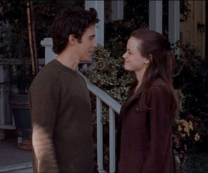 gilmore girls, rory gilmore, and couple image