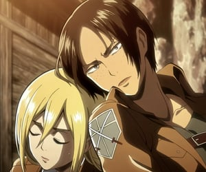 aot, ymir, and historia reiss image