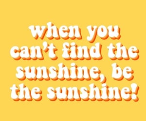 yellow, quotes, and sunshine image