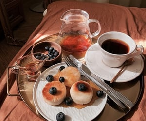 aesthetic, breakfast, and chic image