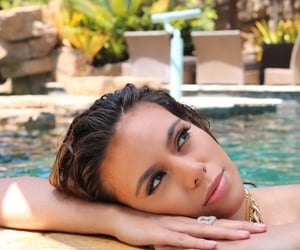 gorgeous, pool, and dinah jane image