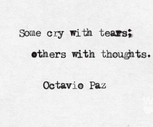 quotes, thoughts, and cry image