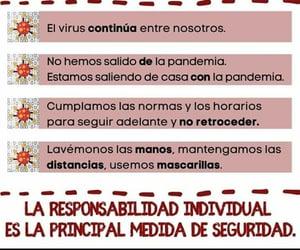 seguridad, covid 19, and frases español image