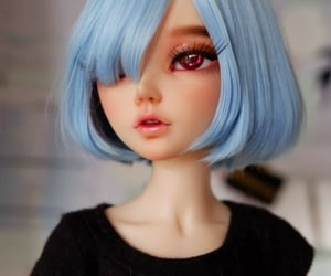 doll, cute, and dollfies image