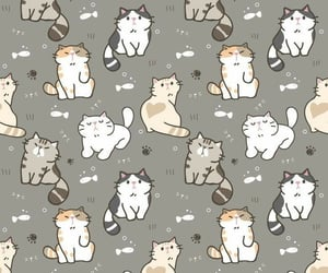 background, cat, and kitten image