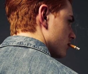 aesthetic, boy, and red hair image