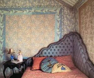 bedroom, decor, and desing image