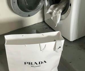 aesthetic, laundry, and Prada image