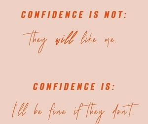 quotes, aesthetic, and confidence image