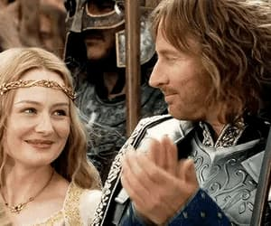 eowyn, the lord of the rings, and movie film tv book image