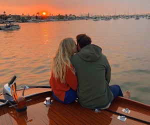 couple, kiss, and life image