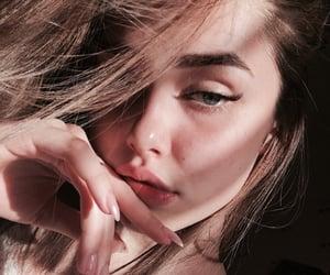 eyes, girl, and model image
