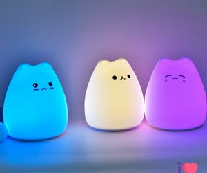 cutie, kawai, and lamps image