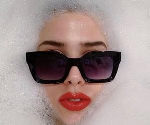 bath, bathroom, and bubbles image