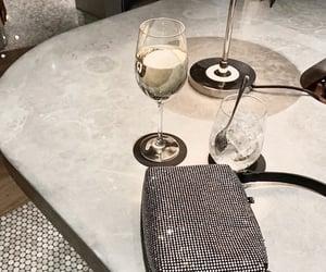 bag, drinks, and fashion image