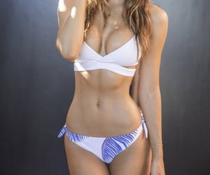 abs, pretty girls, and swimsuit image