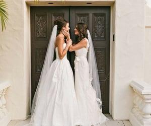 lesbian, wedding, and bride image