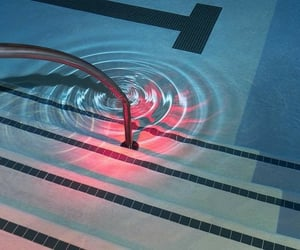 design, swimming, and pool image