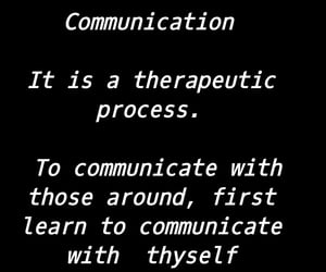 communication and therapeutic image