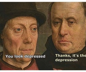 meme, depression, and funny image