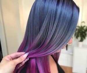 colors, girls, and hair image
