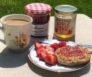 breakfast, summer, and delicious image