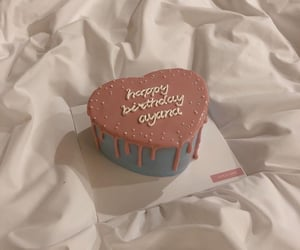 birthday cake, couleur, and lové image