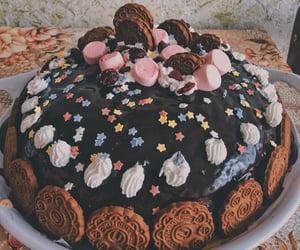 birthday, cake, and pink image