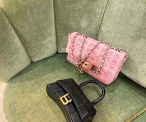 aesthetic, bags, and chic image