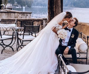 casamento, couple, and kiss image