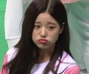 wonyoung, girl, and izone image
