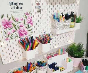 ideas, office, and stationary image