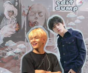 aesthetic, taehyung, and amino cover image
