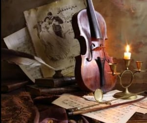 aesthetic, instruments, and violin image