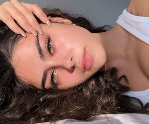 beautiful, freckles, and pretty image