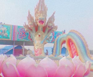 carnival, colorful, and dragon image