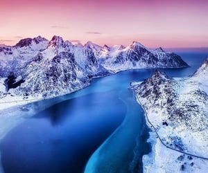 colorful, landscape, and norway image