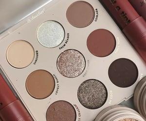 cosmetics, eyeshadow, and glitter image