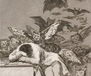art, demon, and goya image